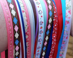 patterned ribbon ribbon set etsy