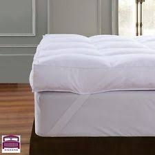 feather mattress toppers ebay
