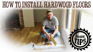 how to install hardwood floors how to lay wood floors how to