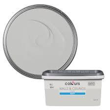 colours standard light rain matt emulsion paint 5l departments