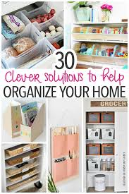 How To Organize The Kitchen - 30 clever solutions for how to organize your home sunny day family