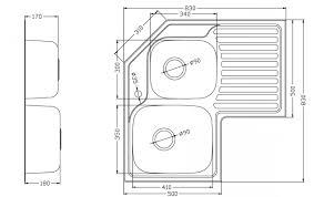 Standard Depth Of Kitchen Cabinets Aloin Info Aloin Info