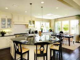 kitchen with an island design 4525