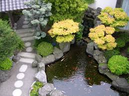 garden interesting garden design with square fish pond with