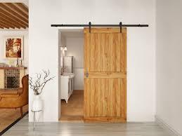 Installing A Sliding Barn Door Barn Door Installation Home Interior Design