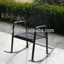 outdoor garden metal mesh rocking chair global sources