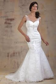 venus wedding dresses venus bridal the back on this dress is amazing lace straps