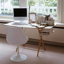 Small White Computer Desks by Interior Exquisite How To Build Home Office Decoration Using