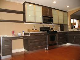 Varnish Kitchen Cabinets Kitchen The Wide Space Recent Style Italian Kitchen Light Brown
