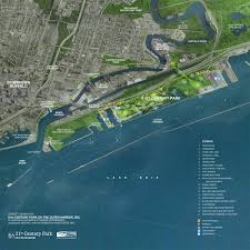 Map Of New York Harbor by Buffalo Maps