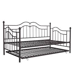 signature sleep tokyo daybed frame and trundle page 1 u2014 qvc com