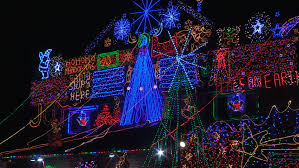 christmas light show toronto bottom view of gardens by the bay night show stock footage video