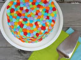 cake challenge grass tip i am baker