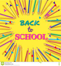 welcome brochure template welcome back to school poster template stock vector image 74464527