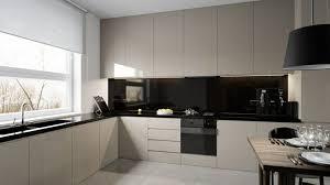 cuisine minimaliste design crédence cuisine originale 48 idées en matériaux différents