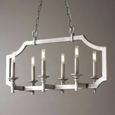 rectangular crystal chandelier dining room inspirations and