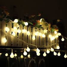 100 led string lights warm white anear