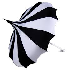 black u0026 white pinwheel pagoda umbrella