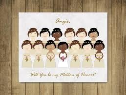 bridesmaid cards custom bridesmaid cards will you be my bridesmaid cards matron