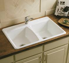 the variety of kohler kitchen sinks u2014 decor trends