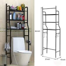 Storage For Towels In Bathroom New 3 Shelf The Toilet Bathroom Space Saver Towel Storage