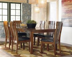 7 Pc Dining Room Sets D594 Raylene 7 Pc Rustic Dining Set