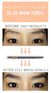 How To Pencil Eyebrows Be Linspired Forever 21 Retractable Eyebrow Pencil Review U0026 Swatch