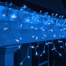 icicle light 150 blue icicle lights white wire
