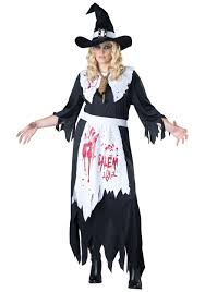 Halloween Costumes Size Size Salem Witch Costume