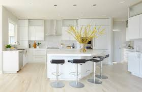white contemporary kitchen cabinets gloss a dramatic white and gray modern kitchen remodel interior