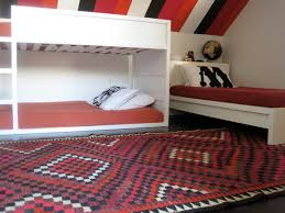 Bedroom With Knee Wall Bunk Bed Reveal U2014 Cocoon Home