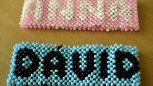 bracelet name beads images Awesome idea how to make name bracelets mexican bracelet forum jpg