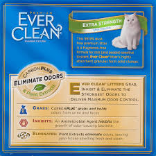 Total Comfort Control Ever Clean Extra Strength Unscented Premium Clumping Clay Cat