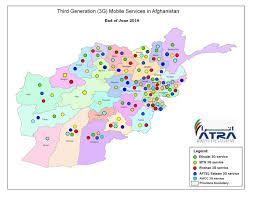 Consumer Cellular Coverage Map Coverage Footprint Telecom Regulatory Authority Of Afghanistan