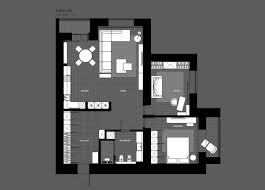 Draw Your Own Floor Plans 5 Ideas For A One Bedroom Apartment With Study Includes Floor Plans