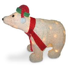 Polar Bear Christmas Decorations Canada by Outdoor Christmas Light Displays You U0027ll Love Wayfair Ca