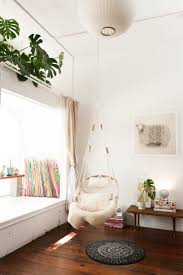 Chair That Hangs From Ceiling 10 Easy Pieces Hanging Rattan Chairs Remodelista
