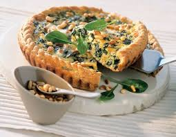 cuisine epinard recette tarte aux épinard et au marcellin