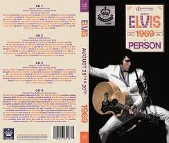 elvis 1969 in person 4 cd box set elvis new dvd and cds elvis