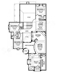 teres porta mediterranean house plan luxury floor plan