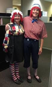 Raggedy Ann Andy Halloween Costumes Adults Raggedy Ann Andy Win Halloween Photo Contest Duke Today