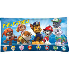 paw patrol sit body pillow walmart