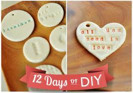 how to make salt dough ornaments gift tags personalized ornaments