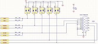 vga to rgb schematic wiring diagram simonand