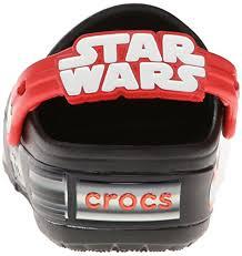 star wars crocs light up crocs kids crocslights star wars vader light up clog