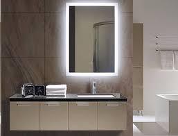 lighted bathroom wall mirror illuminated bathroom mirror lighted wall mirrors for bathrooms
