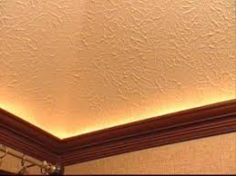 How To Mount Crown Molding To A Tray Ceiling HGTV - Home molding design