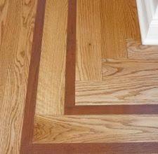 Hardwood Floor Borders Ideas Dining Room Floor With Contrasting Border Remodeling Pinterest