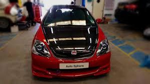 honda civic edinburgh auto sphere rep on honda civic type r respray in