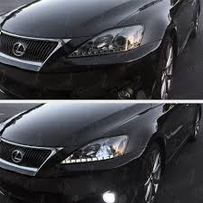lexus is 250 for sale nz 06 13 lexus is250 is350 smoke drl light bar projector headlights